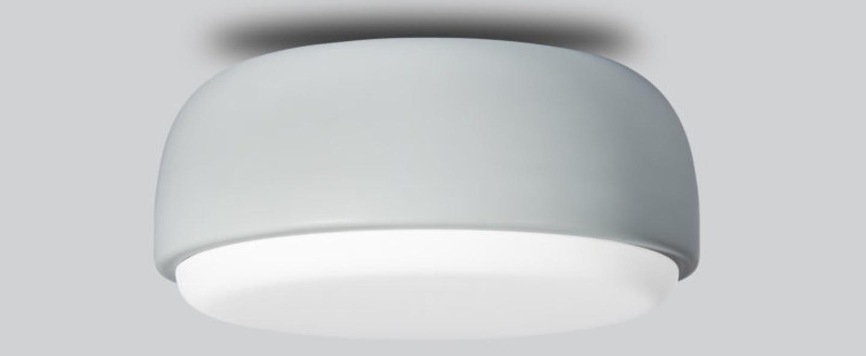 Applique plafonnier above bleu poussiereux o30cm h14cm northern lighting normal