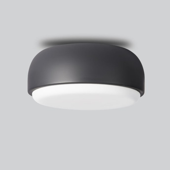 Applique plafonnier above gris fonce o30cm h14cm northern lighting normal
