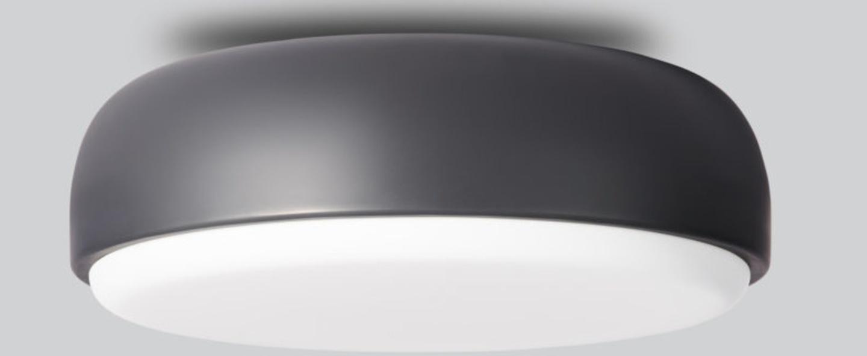 Applique plafonnier above gris fonce o40cm h14cm northern lighting normal