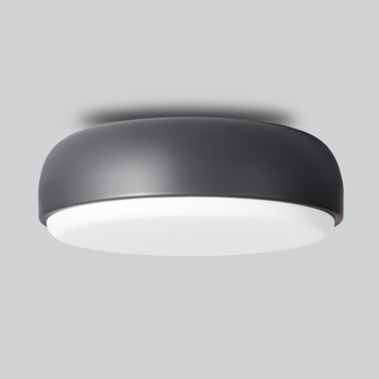 Applique plafonnier above gris fonce o40cm h14cm northern lighting normal