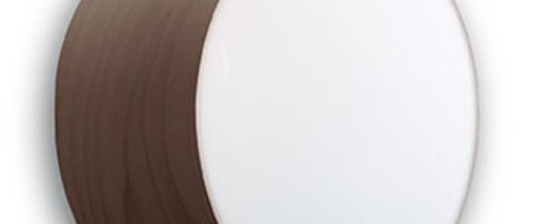 Applique plafonnier applique gea 20 a chocolat led o20cm h10cm lzf normal