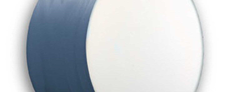 Applique plafonnier gea 20 a bleu led o20cm h10cm lzf normal