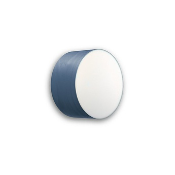 Applique plafonnier gea 20 a bleu led o20cm h10cm lzf normal
