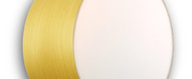 Applique plafonnier gea 20 a jaune led o20cm h10cm lzf normal