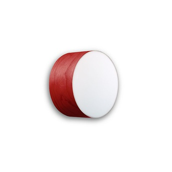 Applique plafonnier gea 20 a rouge led o20cm h10cm lzf normal