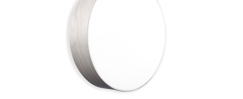 Applique plafonnier gea 42 a gris led o42cm h10cm lzf normal