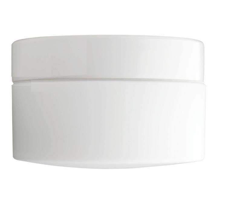 Applique plafonnier salle de bain ip44 blanc porcelaine et verre opalin o20cm h12 5cm zangra 77955 product