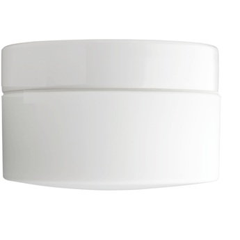 Applique plafonnier salle de bain ip44 blanc porcelaine et verre opalin o20cm h12 5cm zangra normal