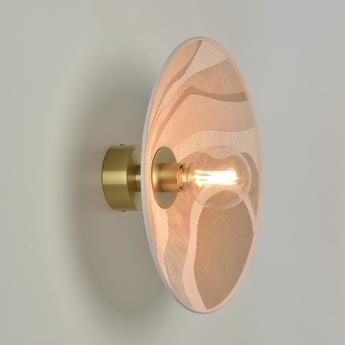 Applique plafonnier sonia laudet malachite sable o40cm h40cm market set normal