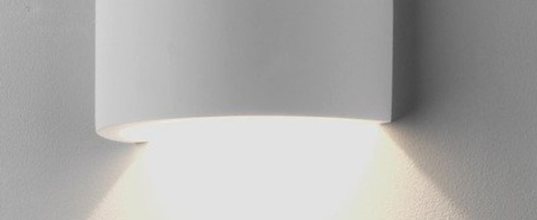 Applique serifos 220 platre blanc led l14cm h22cm astro normal