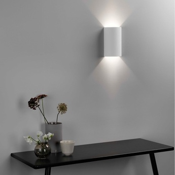 Applique serifos 220 platre blanc led l14cm h22cm astro normal