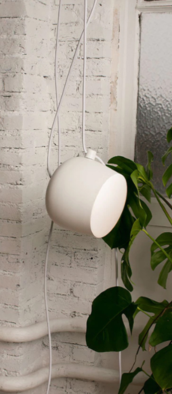 Baladeuse aim lamp blanc o24 3cm flos normal