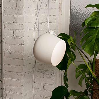 Baladeuse aim lamp blanc o24 3cm flos normal