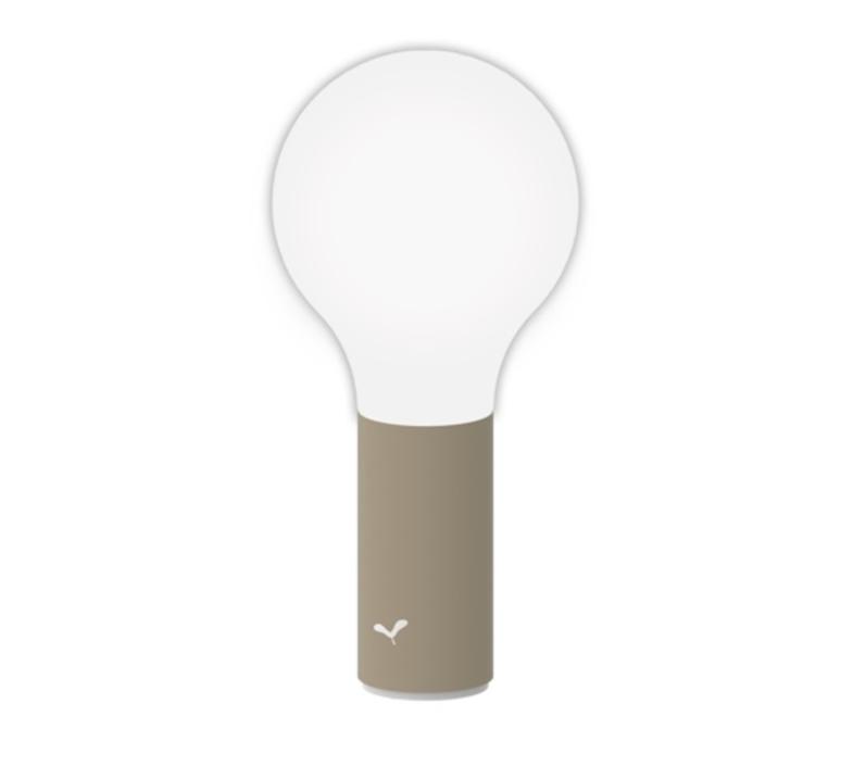 Aplo muscade  tristan lohner baladeuse portable lamp  fermob 341014  design signed nedgis 112631 product
