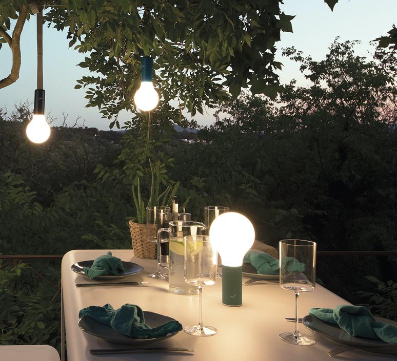 Aplo ocre rouge tristan lohner baladeuse portable lamp  fermob 341020  design signed nedgis 112622 product