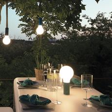 Aplo ocre rouge tristan lohner baladeuse portable lamp  fermob 341020  design signed nedgis 112622 thumb