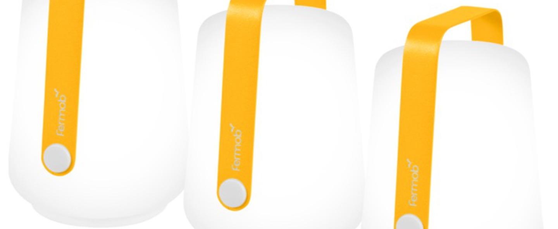 Baladeuse balad miel orange led 6000 20 o10cm h13 5cm fermob normal