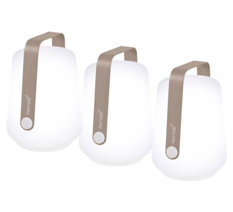 Balad muscade tristan lohner baladeuse portable lamp  fermob 3602 muscade  design signed nedgis 67729 product