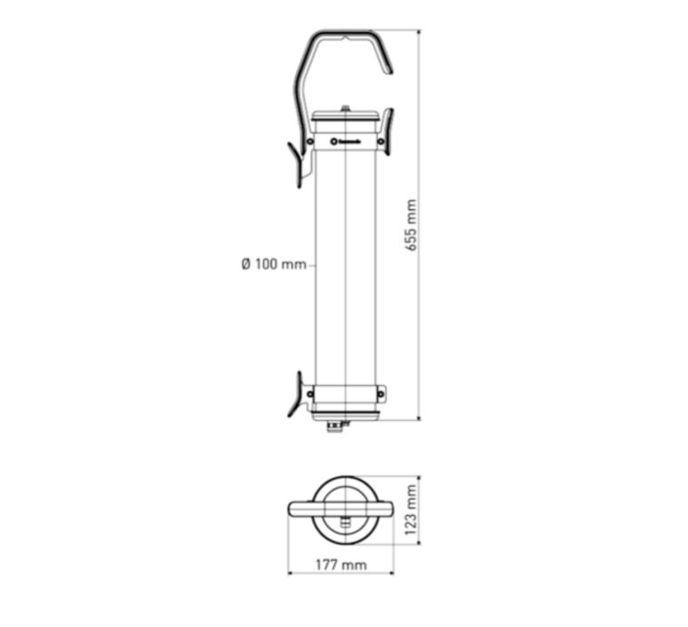 Balke sammode studio baladeuse portable lamp  sammode balke cp1201  design signed 64328 product