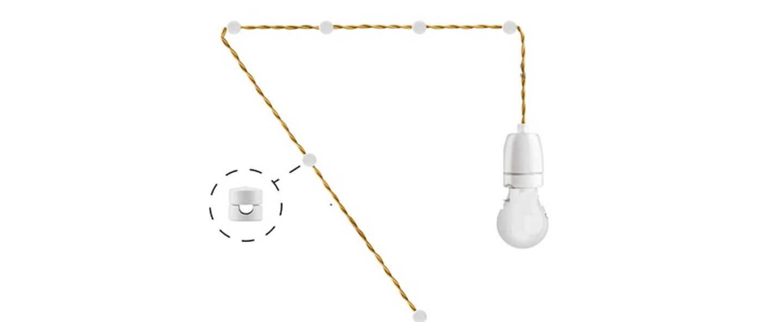 Baladeuse blanc l400cm zangra normal