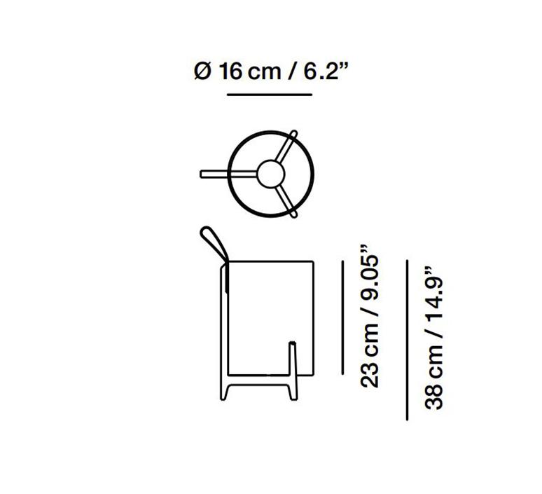 Bretta batetry gabriel teixido baladeuse portable lamp  carpyen 1421400  design signed nedgis 118743 product