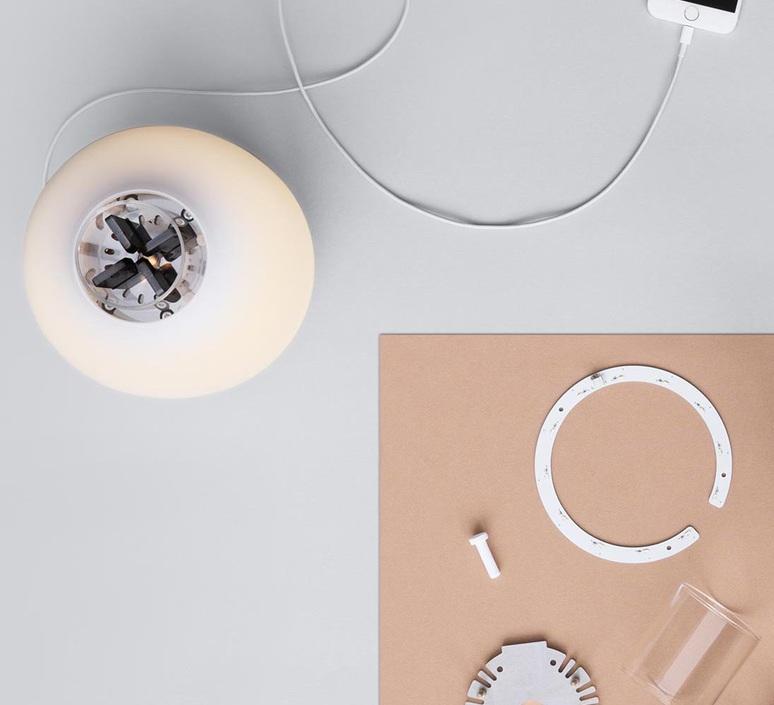 Candela light charge francisco gomez paz baladeuse portable lamp  astep a01 t10 200w  design signed nedgis 79174 product