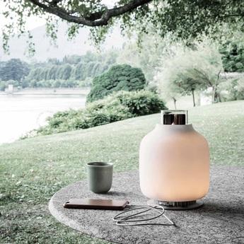 Baladeuse candela light charge blanc led 2200k 400lm o18 6cm h24 1cm astep normal