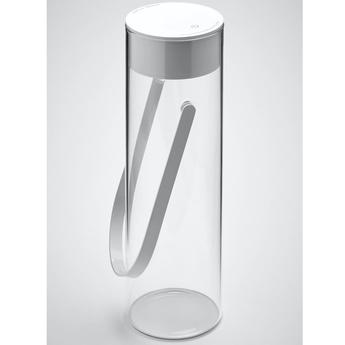 Baladeuse chiardiluna blanc ip44 led 2700k 260 190 130lm o9cm h27 8cm rotaliana normal