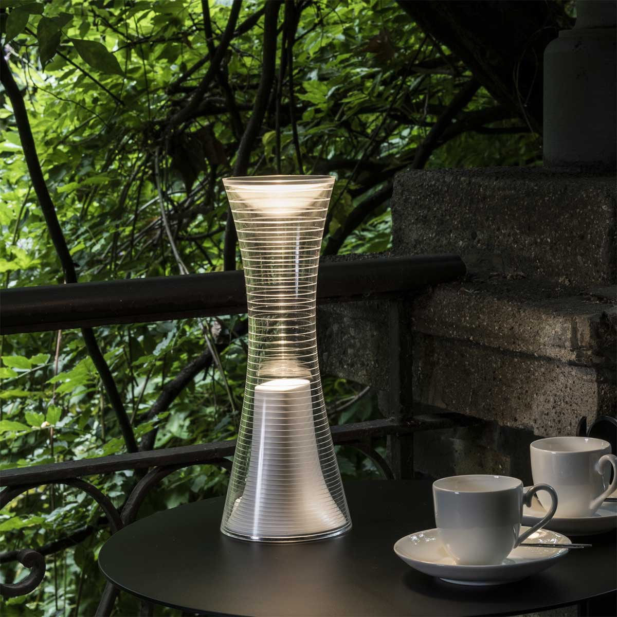 Portable lamp, Come Together, white, LED, 3000K, 360lm, Ø10cm, H26,5cm -  Artemide - Nedgis Lighting