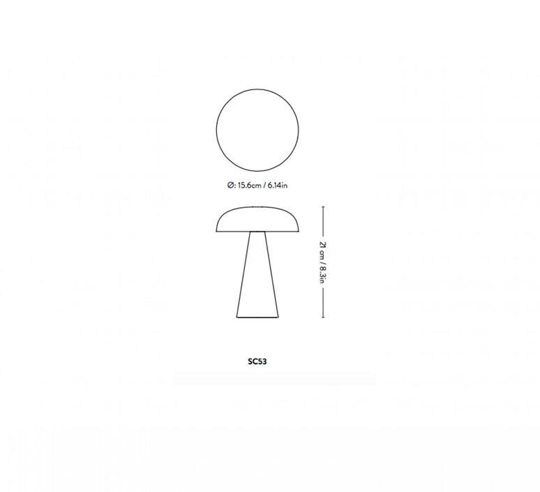 Como sc53 space copenhagen baladeuse portable lamp  andtradition 83512095  design signed nedgis 92966 product