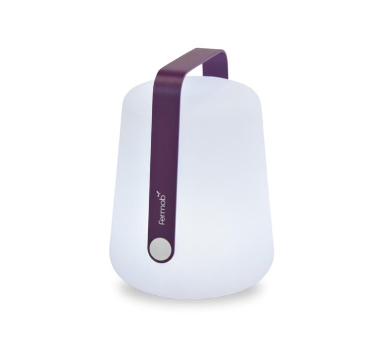 Baladeuse d 39 ext rieur balad aubergine led h25cm for Baladeuse design exterieur