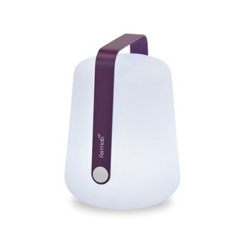 Baladeuse d exterieur balad aubergine led h25cm o19cm fermob normal