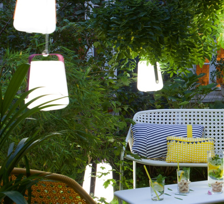 Balad tristan lohner baladeuse d exterieur outdoor portable lamp  fermob 3611 26  design signed 32766 product