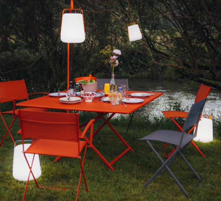 Balad tristan lohner baladeuse d exterieur outdoor portable lamp  fermob 3621 26  design signed 32788 product