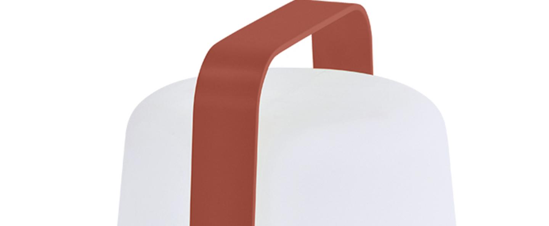 Baladeuse d exterieur balad lampe h25 ocre rouge ip44 led 2300 4000 6000k 40lm o19cm h25cm fermob normal