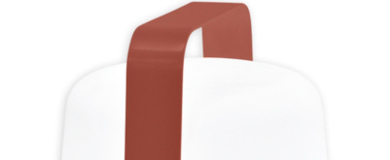 Baladeuse d exterieur balad lampe h38 ocre rouge ip44 led 2300 4000 6000k 40lm o28cm h38cm fermob normal