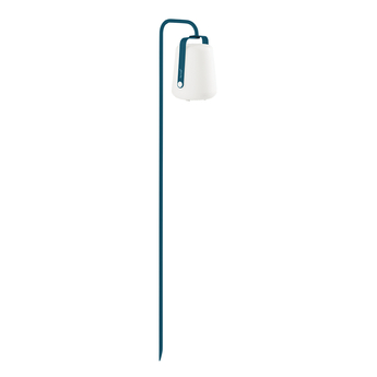 Baladeuse d exterieur balad pied a planter bleu acapulco l5cm h159cm fermob normal