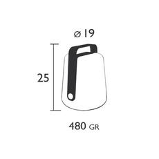 Balad tristan lohner baladeuse d exterieur outdoor portable lamp  fermob 3611 29  design signed 32748 thumb