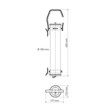 Balke sammode studio baladeuse d exterieur outdoor portable lamp  sammode balke ms1201  design signed 64327 thumb