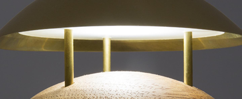 Baladeuse d exterieur bell bois marron 3000k 150 lm o13cm h12cm alma light normal