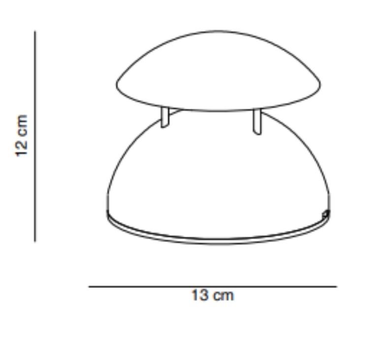 Bell cristian cubina baladeuse d exterieur outdoor portable lamp  alma light 2060 010  design signed nedgis 116903 product