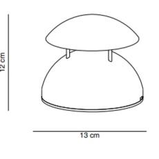 Bell cristian cubina baladeuse d exterieur outdoor portable lamp  alma light 2060 010  design signed nedgis 116903 thumb