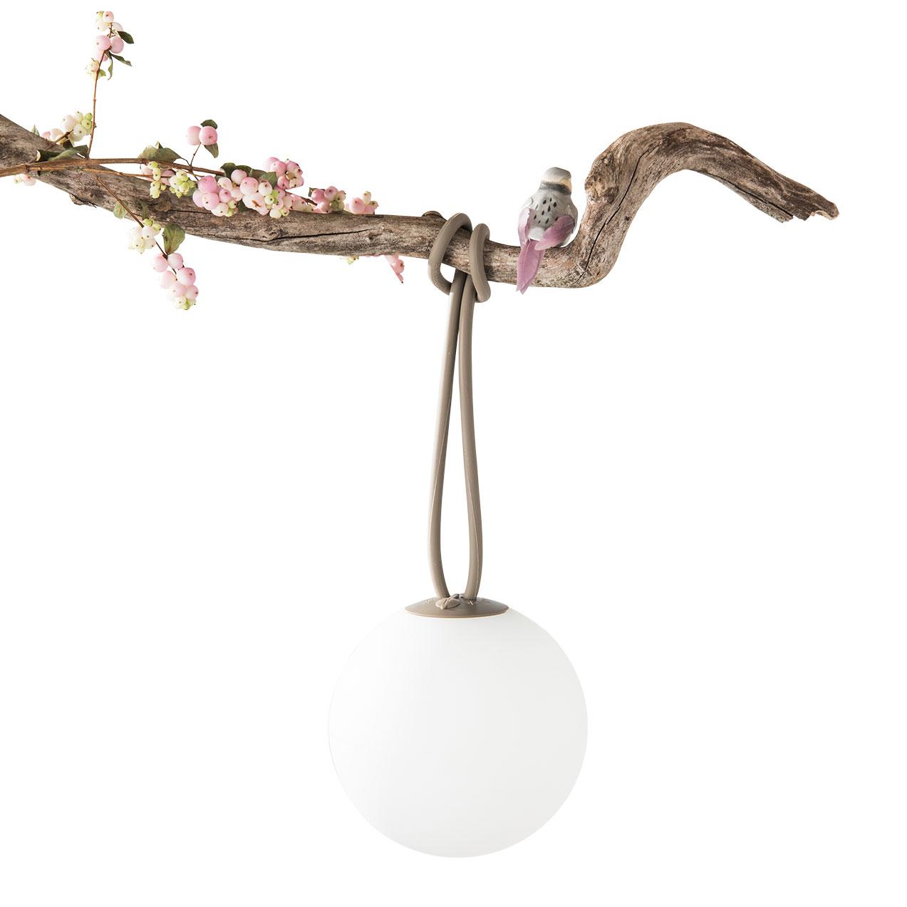 Outdoor Portable Lamp Bolleke Brown Led ø20cm Hcm Fatboy