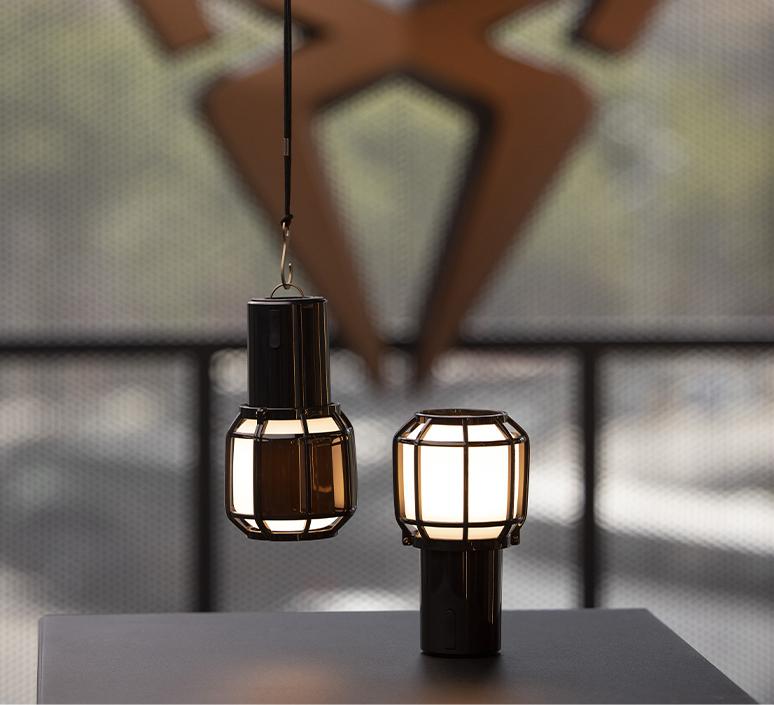 Chispa joan gaspar baladeuse d exterieur outdoor portable lamp  marset a703 001  design signed nedgis 117349 product