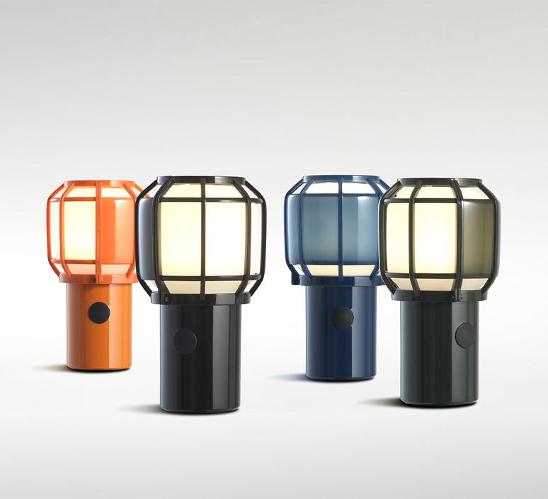 Chispa joan gaspar baladeuse d exterieur outdoor portable lamp  marset a703 001  design signed nedgis 117352 product