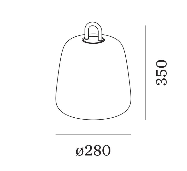 Costa 2 0 led studio wever ducre baladeuse d exterieur outdoor portable lamp  wever et ducre 8652860b9  design signed nedgis 116584 product