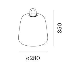 Costa 2 0 led studio wever ducre baladeuse d exterieur outdoor portable lamp  wever et ducre 8652860b9  design signed nedgis 116584 thumb