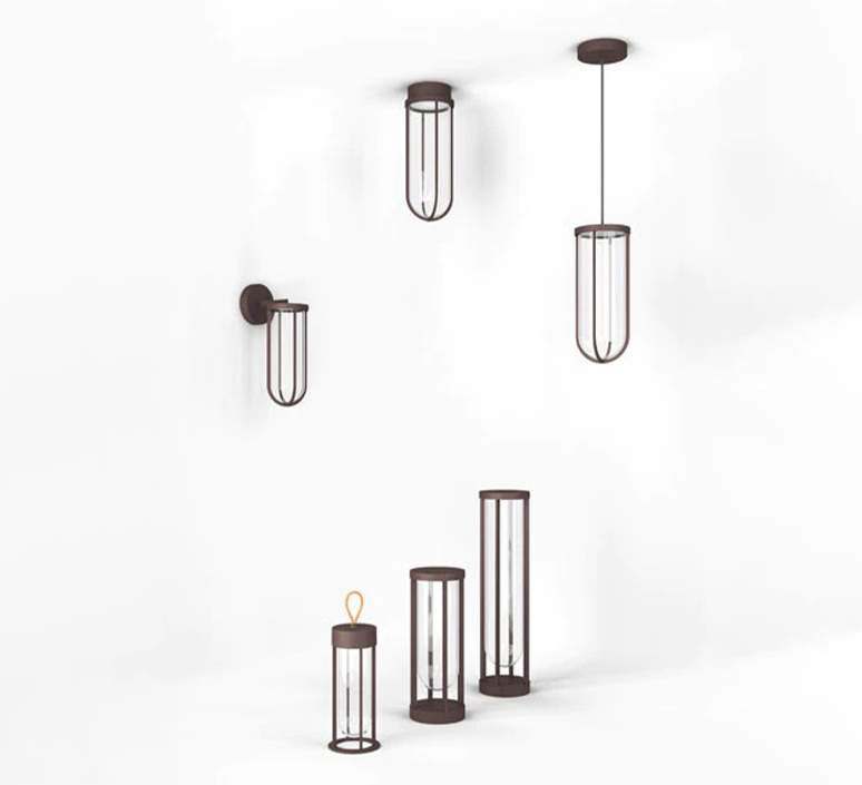 In vitro unplugged philippe starck baladeuse d exterieur outdoor portable lamp  flos f018e21k018  design signed nedgis 114830 product