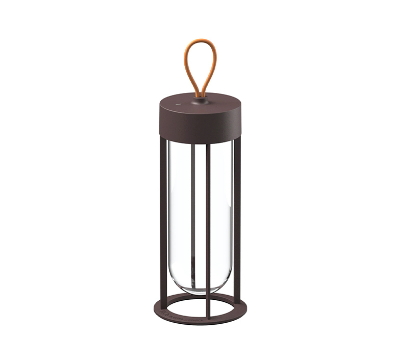In vitro unplugged philippe starck baladeuse d exterieur outdoor portable lamp  flos f018e21k018  design signed nedgis 114831 product