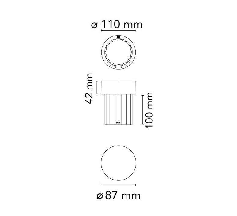 Last order michael anastassiades baladeuse d exterieur outdoor portable lamp  flos f03694039  design signed nedgis 99703 product